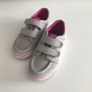Girls Sperry's size 8